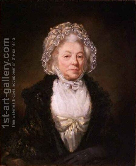 Mrs Dean King by James Northcote, R.A. - Reproduction Oil Painting