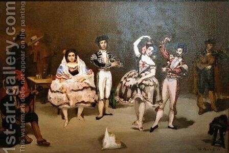 Spanish Ballet by Edouard Manet - Reproduction Oil Painting