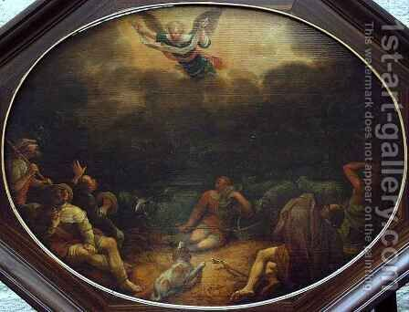 Annunciation to the Shepherds by David Colijns - Reproduction Oil Painting