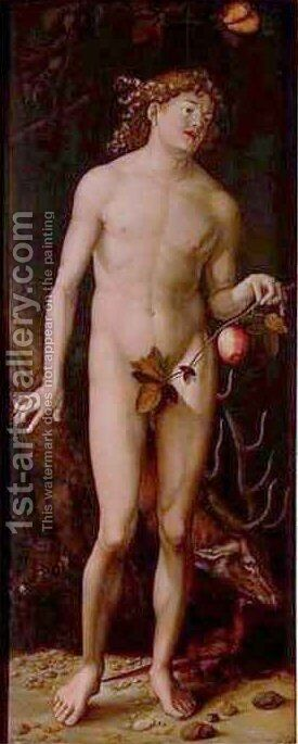 Adam 2 by Hans Baldung  Grien - Reproduction Oil Painting