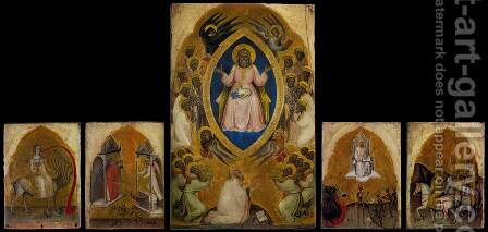 Polyptych of the Apocalypse by Jacobello Alberegno - Reproduction Oil Painting