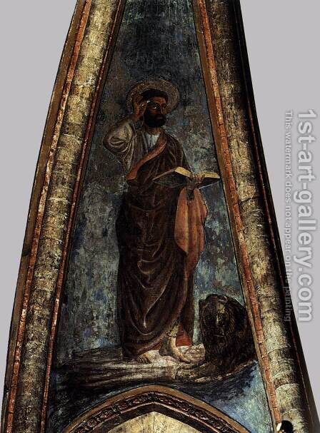St Mark 2 by Andrea Del Castagno - Reproduction Oil Painting