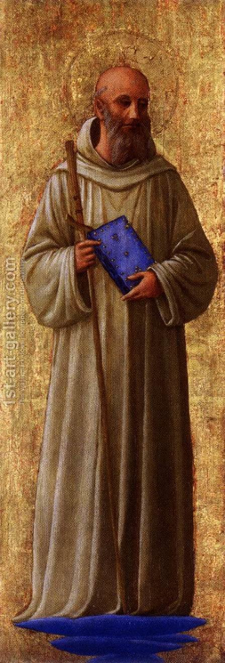 St Romuald by Angelico Fra - Reproduction Oil Painting