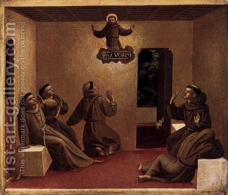 The Apparition at Arles by Angelico Fra - Reproduction Oil Painting