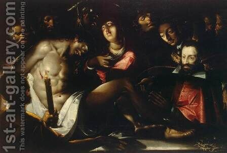 Lamentation by Jacques Bellange - Reproduction Oil Painting