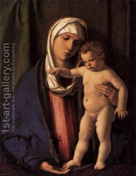 Virgin and Child 2 by Giovanni Bellini - Reproduction Oil Painting