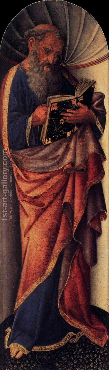 St John the Evangelist by Jacopo Bellini - Reproduction Oil Painting