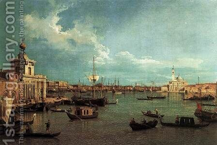 Venice The Bacino from the Giudecca by (Giovanni Antonio Canal) Canaletto - Reproduction Oil Painting