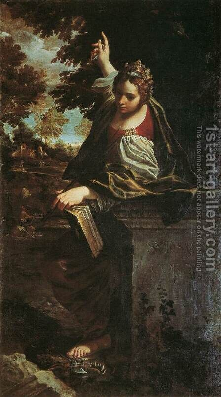 St Margaret by Annibale Carracci - Reproduction Oil Painting