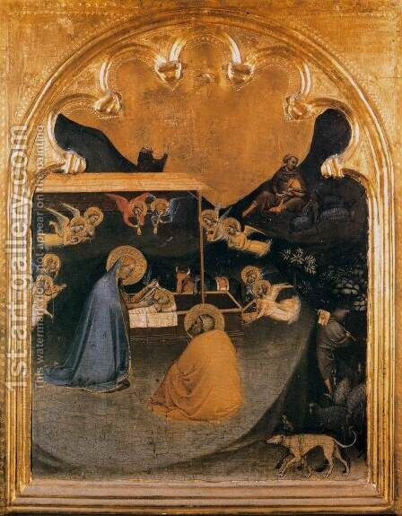Polyptych of San Pancrazio Predella panel 2 by Bernardo Daddi - Reproduction Oil Painting