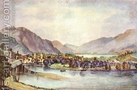View of Trento 2 by Albrecht Durer - Reproduction Oil Painting