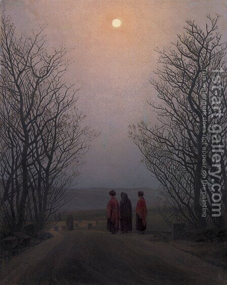 Easter Morning by Caspar David Friedrich - Reproduction Oil Painting