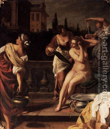 Bathsheba by Artemisia Gentileschi - Reproduction Oil Painting