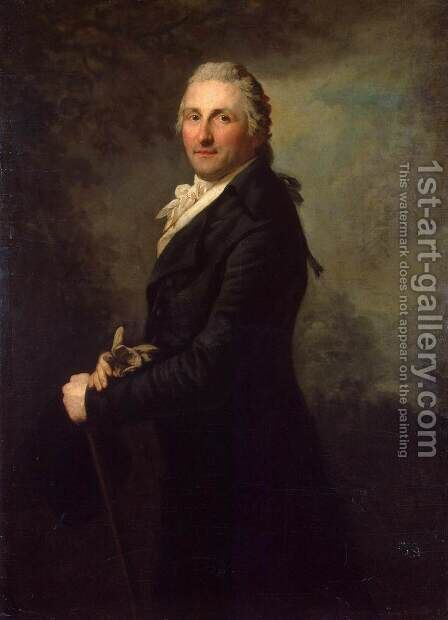 Portrait of George Leopold de Gogul by Anton Graff - Reproduction Oil Painting