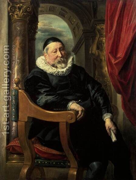 Portrait of an Old Man by Jacob Jordaens - Reproduction Oil Painting