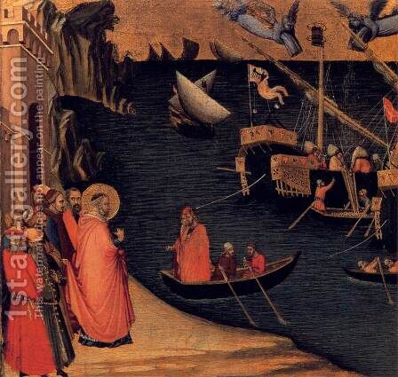 Scenes of the Life of St Nicholas 2 by Ambrogio Lorenzetti - Reproduction Oil Painting