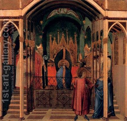 Scenes of the Life of St Nicholas 4 by Ambrogio Lorenzetti - Reproduction Oil Painting