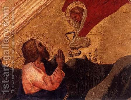 Christ in the Garden of Gethsemane (detail) by Masaccio (Tommaso di Giovanni) - Reproduction Oil Painting