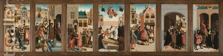 The Seven Works of Mercy by Master of Alkmaar - Reproduction Oil Painting