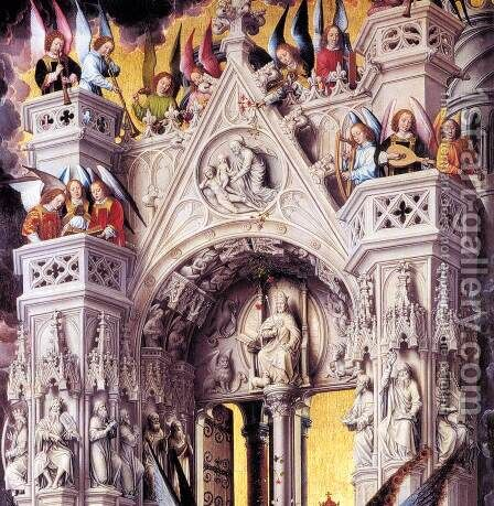 Last Judgment Triptych (detail) 2 by Hans Memling - Reproduction Oil Painting