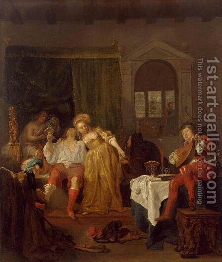 The Prodigal Son by Gabriel Metsu - Reproduction Oil Painting