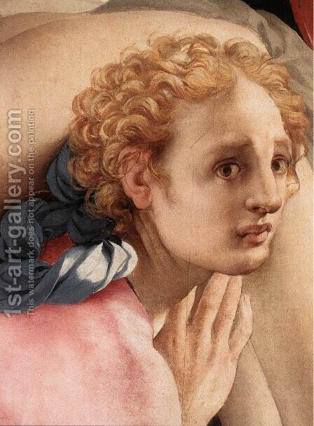 Deposition (detail) 3 by (Jacopo Carucci) Pontormo - Reproduction Oil Painting