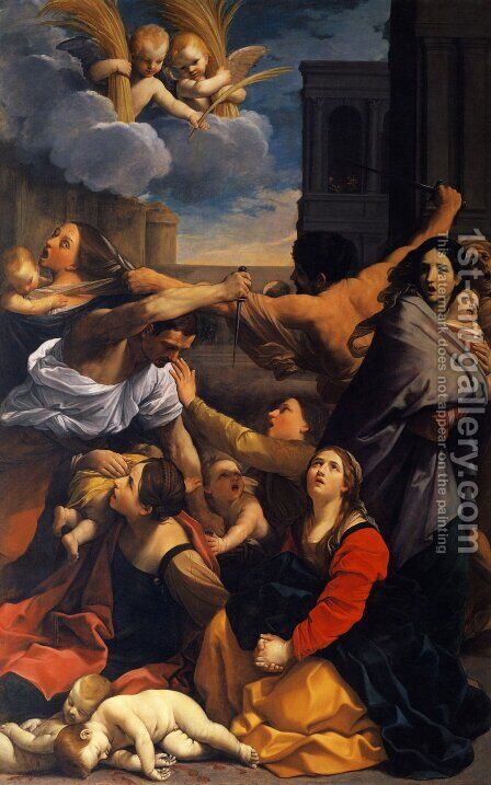 Massacre of the Innocents by Guido Reni - Reproduction Oil Painting