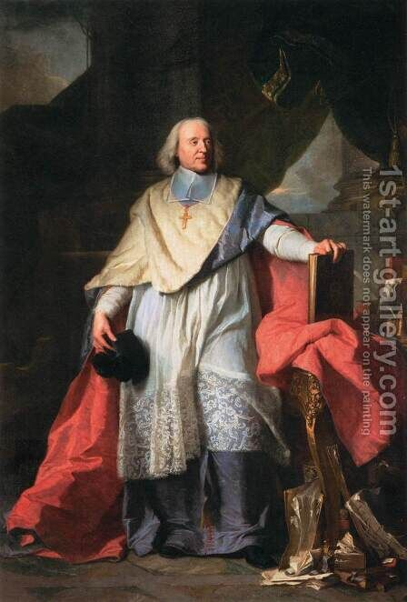 Jacques-Benigne Bossuet by Hyacinthe Rigaud - Reproduction Oil Painting
