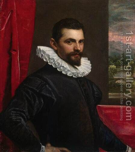 Portrait of a Man 2 by Domenico Tintoretto (Robusti) - Reproduction Oil Painting