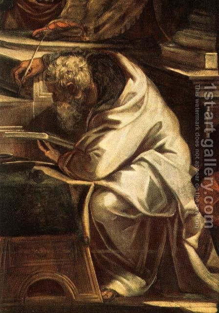 Christ before Pilate (detail) by Jacopo Tintoretto (Robusti) - Reproduction Oil Painting