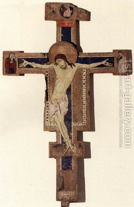 Crucifix 3 by Italian Unknown Master - Reproduction Oil Painting