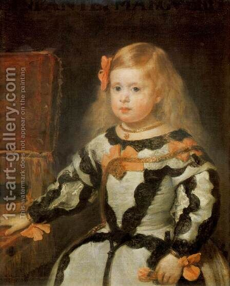 Infanta Margarita by Velazquez - Reproduction Oil Painting