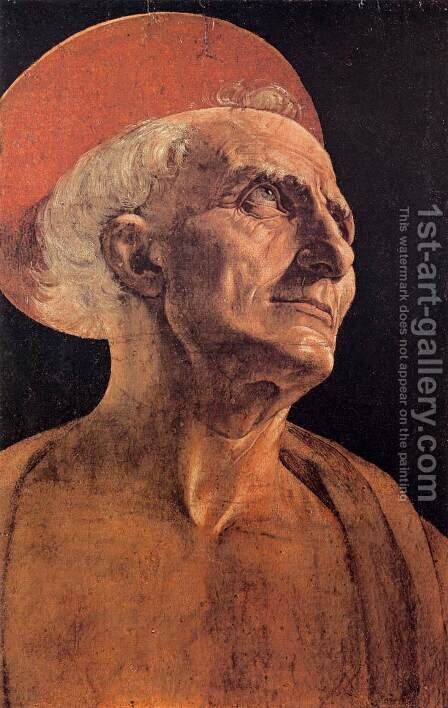 St Jerome by Andrea Del Verrocchio - Reproduction Oil Painting