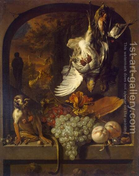 Still-Life by Jan Weenix - Reproduction Oil Painting