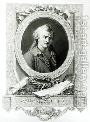 Luc de Clapiers Marquis of Vauvenargues by Charles Amedee Colin - Reproduction Oil Painting