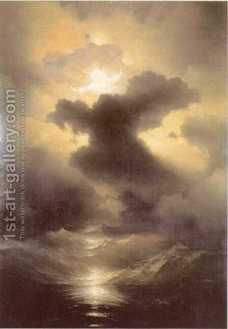 Chaos by Ivan Konstantinovich Aivazovsky - Reproduction Oil Painting