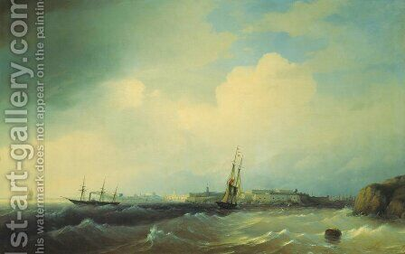 Sveaborg by Ivan Konstantinovich Aivazovsky - Reproduction Oil Painting