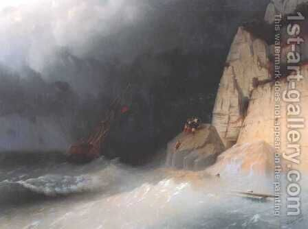 The Shipwreck 2 by Ivan Konstantinovich Aivazovsky - Reproduction Oil Painting