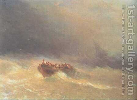 The Shipwreck 4 by Ivan Konstantinovich Aivazovsky - Reproduction Oil Painting