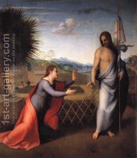 Noli Me Tangere by Andrea Del Sarto - Reproduction Oil Painting