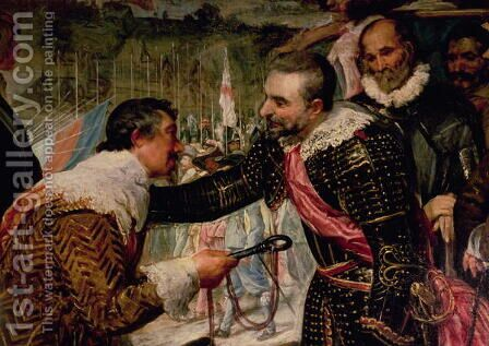 The Surrender of Breda 2 by Velazquez - Reproduction Oil Painting