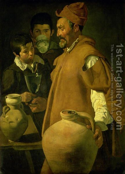 The Water Seller of Seville 1620 by Velazquez - Reproduction Oil Painting
