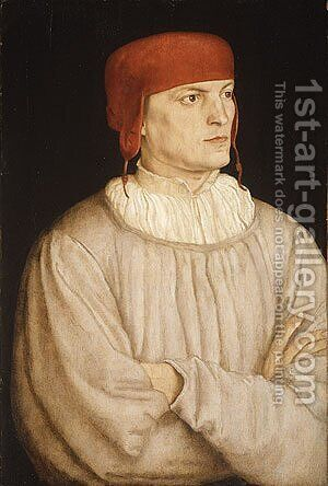 Chancellor Leonhard von Eck 1527 by Barthel Beham - Reproduction Oil Painting