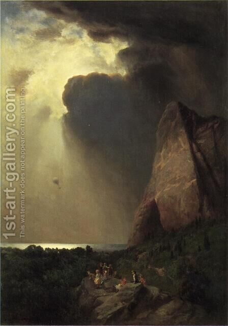 The Lost Balloon 1882 by Bernardo Bellotto (Canaletto) - Reproduction Oil Painting