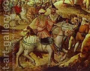 Procession To Golgotha Detail by Herri met de Bles - Reproduction Oil Painting