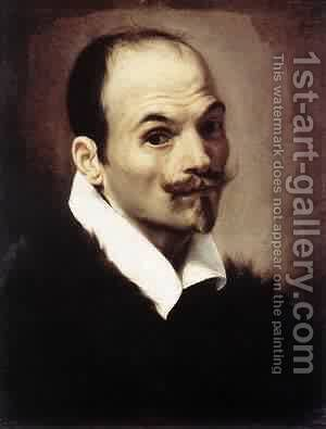 Self-Portrait 1615 by Ambrogio Borgognone - Reproduction Oil Painting