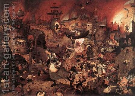 Dulle Griet (Mad Meg) 1562 by Jan The Elder Brueghel - Reproduction Oil Painting