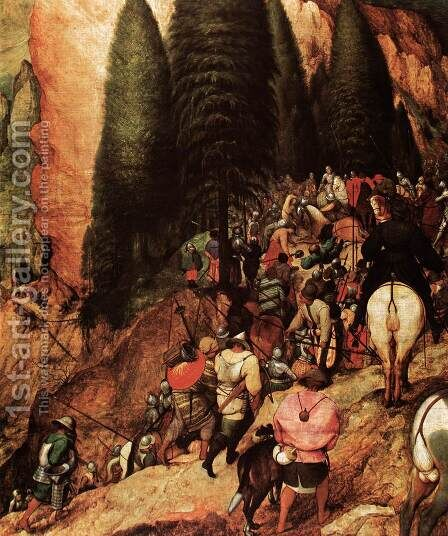 The Conversion of Saul (detail) 1567 2 by Jan The Elder Brueghel - Reproduction Oil Painting