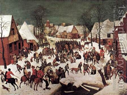 The Massacre of the Innocents 1565-67 by Jan The Elder Brueghel - Reproduction Oil Painting