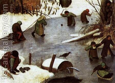 The Numbering at Bethlehem (detail) 1566 4 by Jan The Elder Brueghel - Reproduction Oil Painting